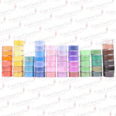 FULL SET OF ALL 59 Rainbow Spectrum Dusting Sugarcraft Food Colouring 10ml