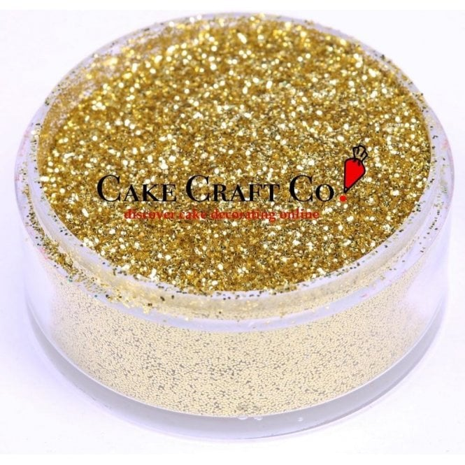 Rolkem Gold - CRYSTALS Edible Glitter Colours for 'Sparkling' Finish 10g