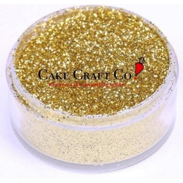 Gold - CRYSTALS Edible Glitter Colours for 'Sparkling' Finish 10g