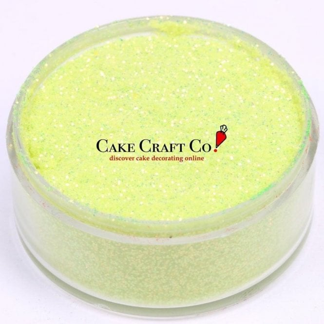 Rolkem Lime - CRYSTALS Edible Glitter Colours for 'Sparkling' Finish 10g