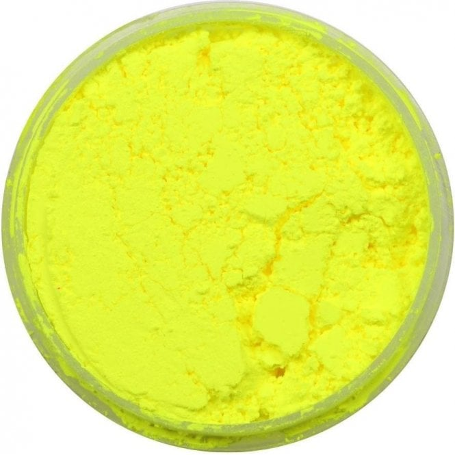 Lunar Yellow - Lumo/Luminosity/Glow in the Dark Edible Sugarcraft Dust Food Colouring - Choose Your Sizes