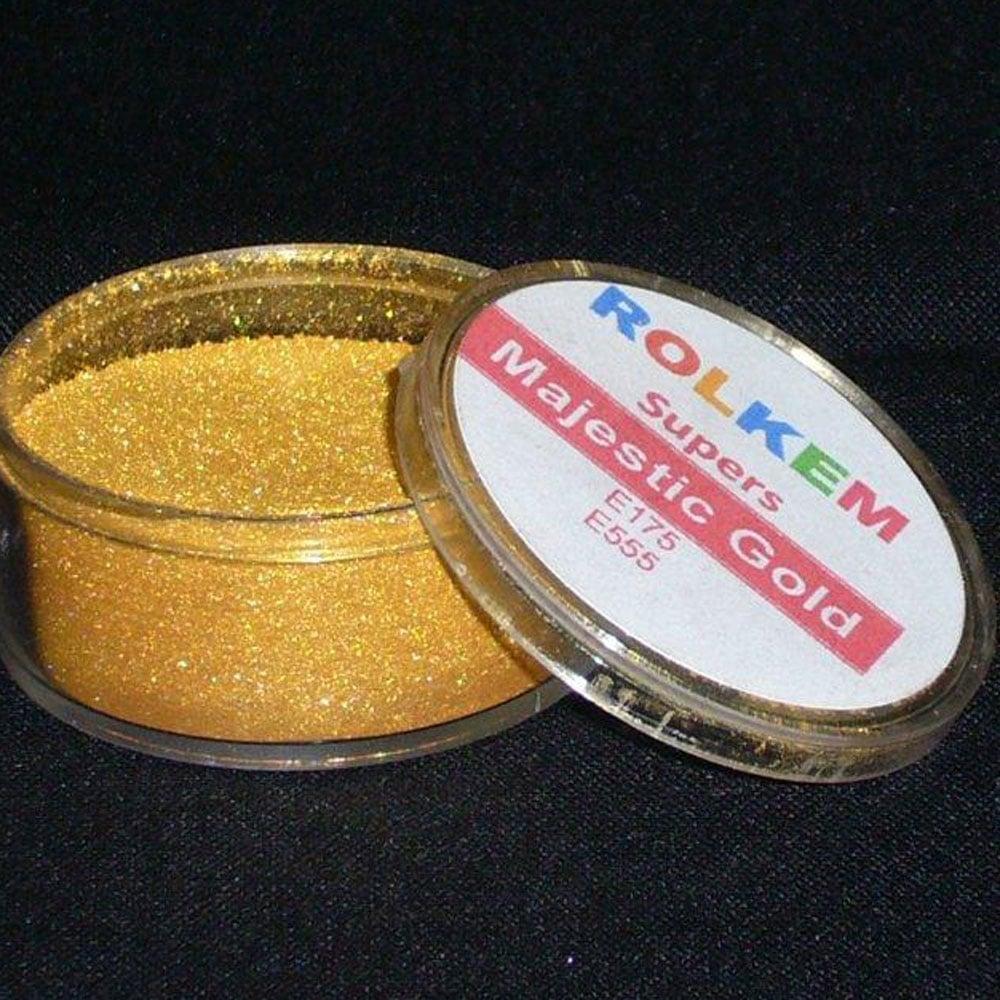 Rolkem Super Majestic Gold Sugarcraft Cake Decorating Dust ...