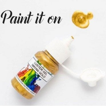 Mayan Gold - Gel Lustre Edible Paint