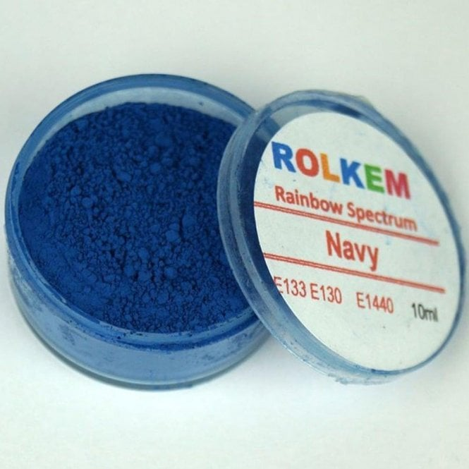 Rolkem Navy - Rainbow Spectrum Dusting Colour 10ml