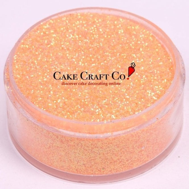 Rolkem Peach - CRYSTALS Edible Glitter Colours for 'Sparkling' Finish 10g