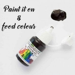 Pitch Black - Concentrates Edible Paint 15ml