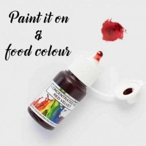 Red Velvet - Concentrates Edible Paint 15ml