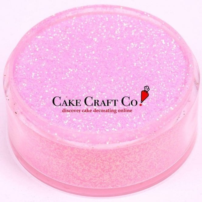 Rolkem Rose - CRYSTALS Edible Glitter Colours for 'Sparkling' Finish 10g