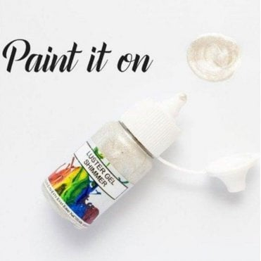 Shimmer - Gel Lustre Edible Paint 15ml