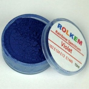 Violet - Rainbow Spectrum Dusting Colour 10ml