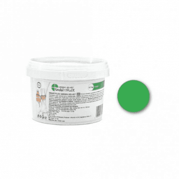 Green Velvet (Vanilla Flavour) Sugarpaste Fondant - Choose Your Tub Size