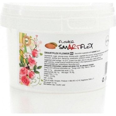 White (Almond Flavour) Premium Flower Paste 0.7kg
