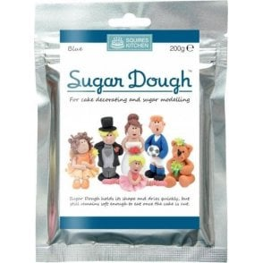 Blue - SK Sugar Dough Modelling Paste 200g