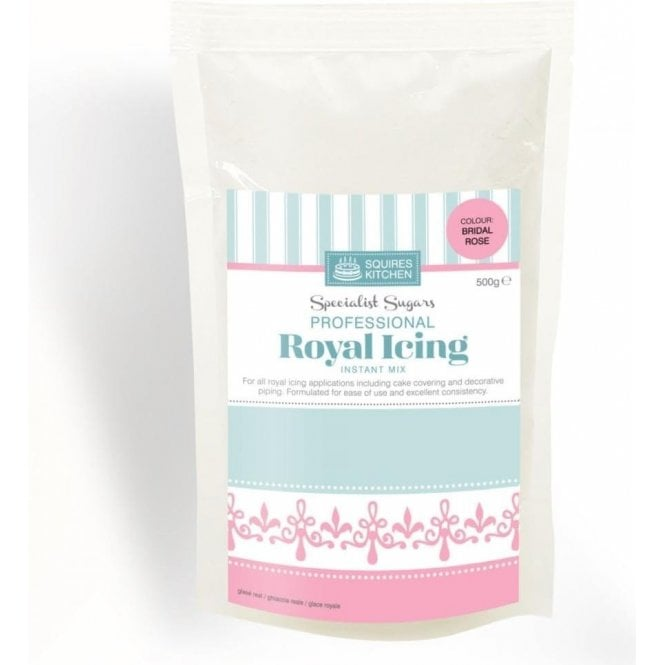 Squires Kitchen Bridal Rose - Royal Icing Instant Mix 500g
