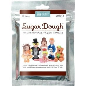 Brown- SK Sugar Dough Modelling Paste 200g