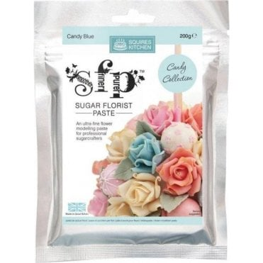 Candy Blue - SK SFP Sugar Florist Paste 200g