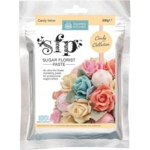 Candy Yellow - SK SFP Sugar Florist Paste 200g