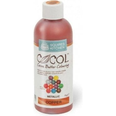 Copper Metallic - SK Professional COCOL Cocoa Butter Colouring 75g
