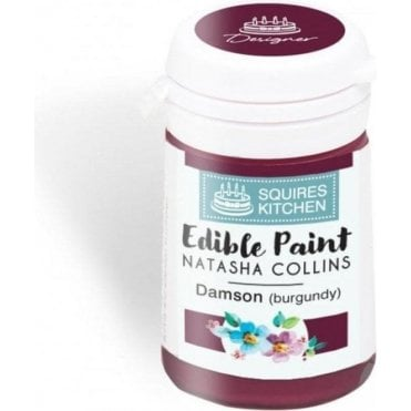 Damson (Burgundy) - SK Edible Paint by Natasha Collins