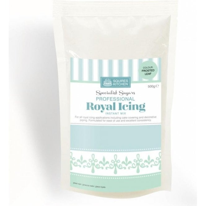Squires Kitchen Frosted Leaf - Royal Icing Instant Mix 500g