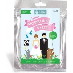Garden Green - SK Fairtrade Sugar Modelling Paste 200g