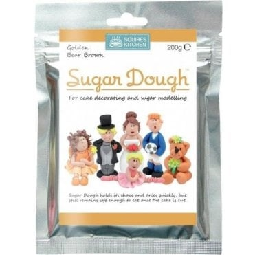 Golden Bear Brown- SK Sugar Dough Modelling Paste 200g