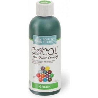 Green - SK Professional COCOL Cocoa Butter Colouring 75g