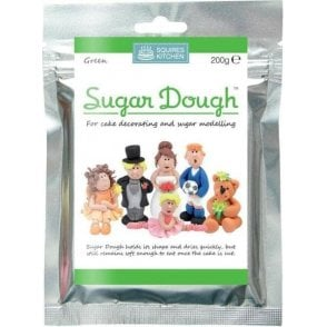 Green - SK Sugar Dough Modelling Paste 200g