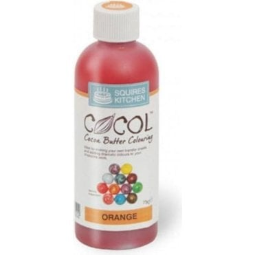Orange - SK Professional COCOL Cocoa Butter Colouring 75g