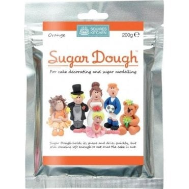 Orange- SK Sugar Dough Modelling Paste 200g