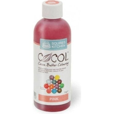 Pink - SK Professional COCOL Cocoa Butter Colouring 75g