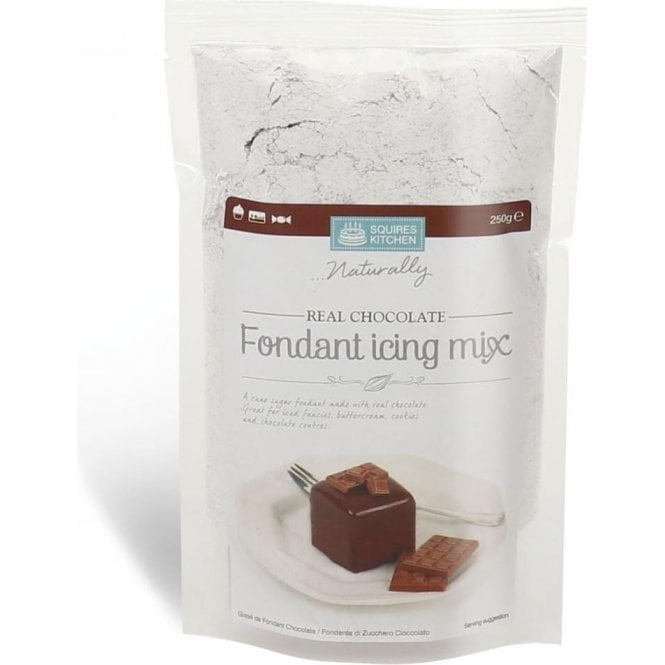 Squires Kitchen Real Chocolate Fondant Icing Mix SK - 250g