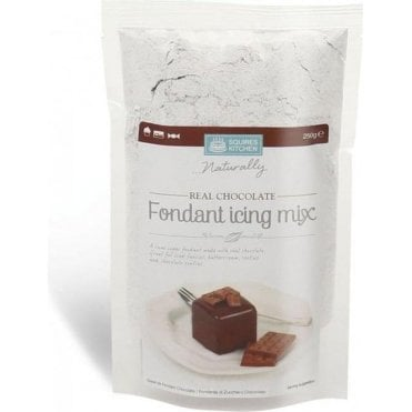 Real Chocolate Fondant Icing Mix SK - 250g