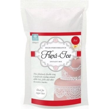 Red - Flexi-Ice/Cake Lace High Performance Instant Mix