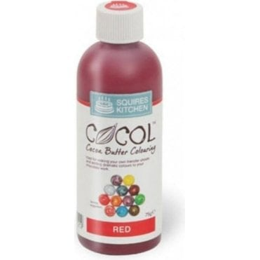 Red - SK Professional COCOL Cocoa Butter Colouring 75g
