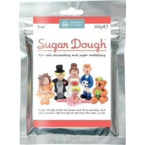 Red - SK Sugar Dough Modelling Paste 200g