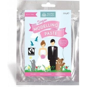 Rosy Pink - SK Fairtrade Sugar Modelling Paste 200g