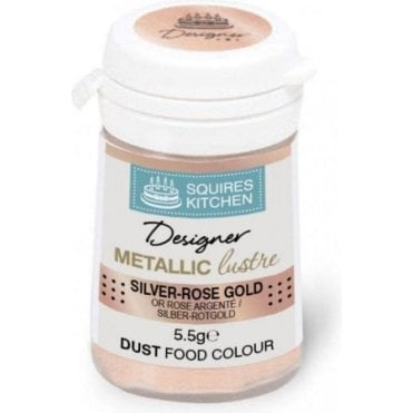 Silver-Rose Gold - SK Designer Metallic Lustre Dust 5.5g