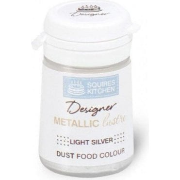 Light Silver - SK Designer Metallic Lustre Dust 5.5g