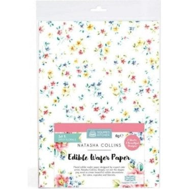 SK Edible Wafer Paper by Natasha Collins: Ditsy Florals