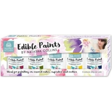 SK Natasha Collins Edible Paint Set - Kit 1