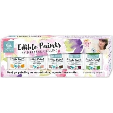 SK Natasha Collins Edible Paint Set - Kit 3