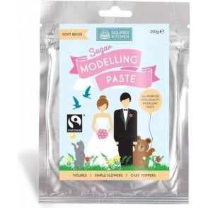 Soft Beige - SK Fairtrade Sugar Modelling Paste 200g