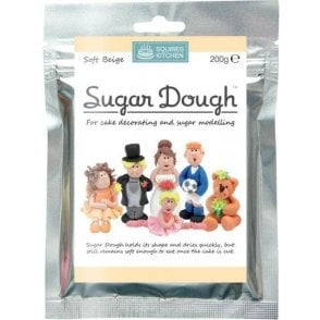 Soft Beige - SK Sugar Dough Modelling Paste 200g