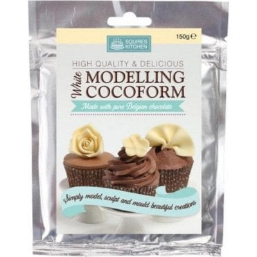 White Belgian Chocolate - SK Modelling Cocoform - Choose Your Sizes