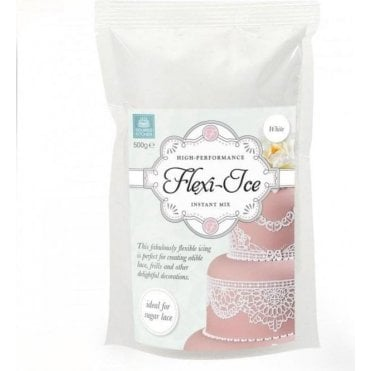 White - Flexi-Ice/Cake Lace High Performance Instant Mix - Choose Your Sizes