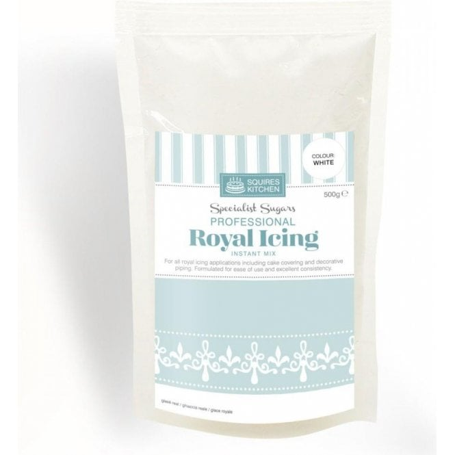 Squires Kitchen White Professional Royal Icing Instant Mix - Choose Your Sizes