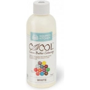 White - SK Professional COCOL Cocoa Butter Colouring 75g