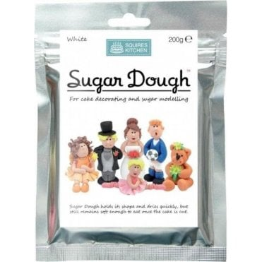 White - SK Sugar Dough Modelling Paste - Choose Your Size