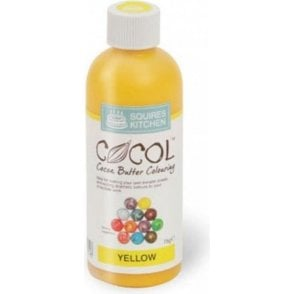 Yellow - SK Professional COCOL Cocoa Butter Colouring 75g